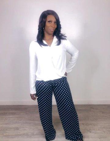 Polka Dot Pants 100% Polyester