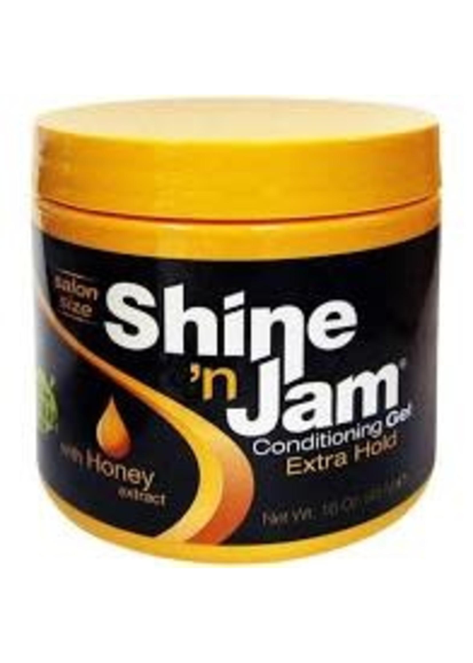 Amp Shine n Jam Gel Xhold-Gold 16oz