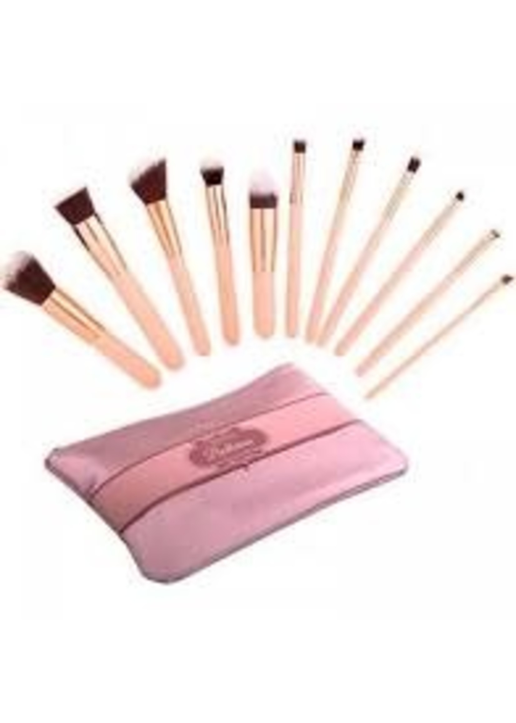 Beauty Creations Ballerina 12PC Rose Gold Brush