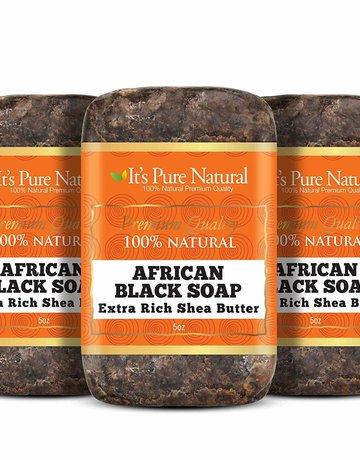 It's Pure Black Soap