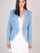 Light Denim  Blazer