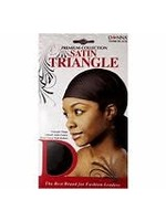 Donna Satin Triangle (Black)