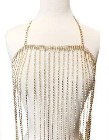 Top Body Chain (Silver)