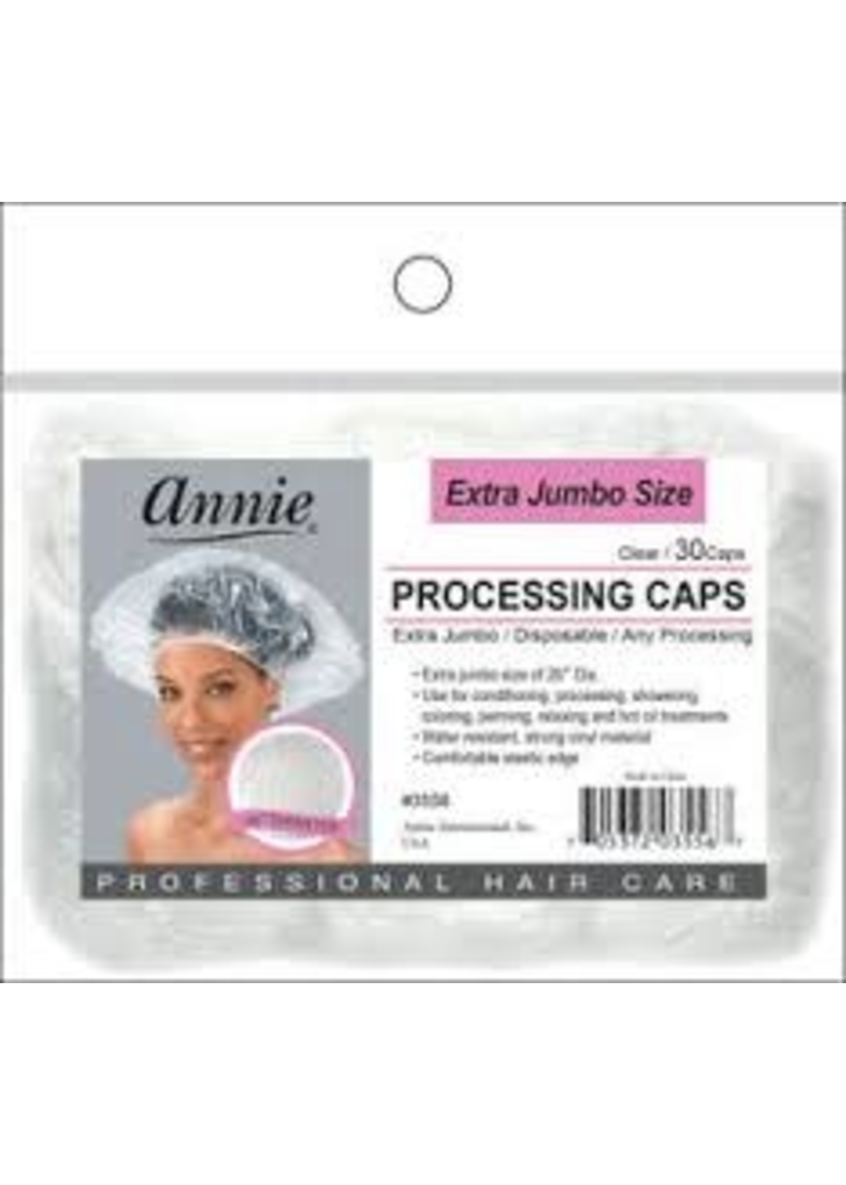 Annie extra Jumbo Processing Caps 30ct