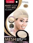 M&M Headgear Mesh Dome Wig Cap