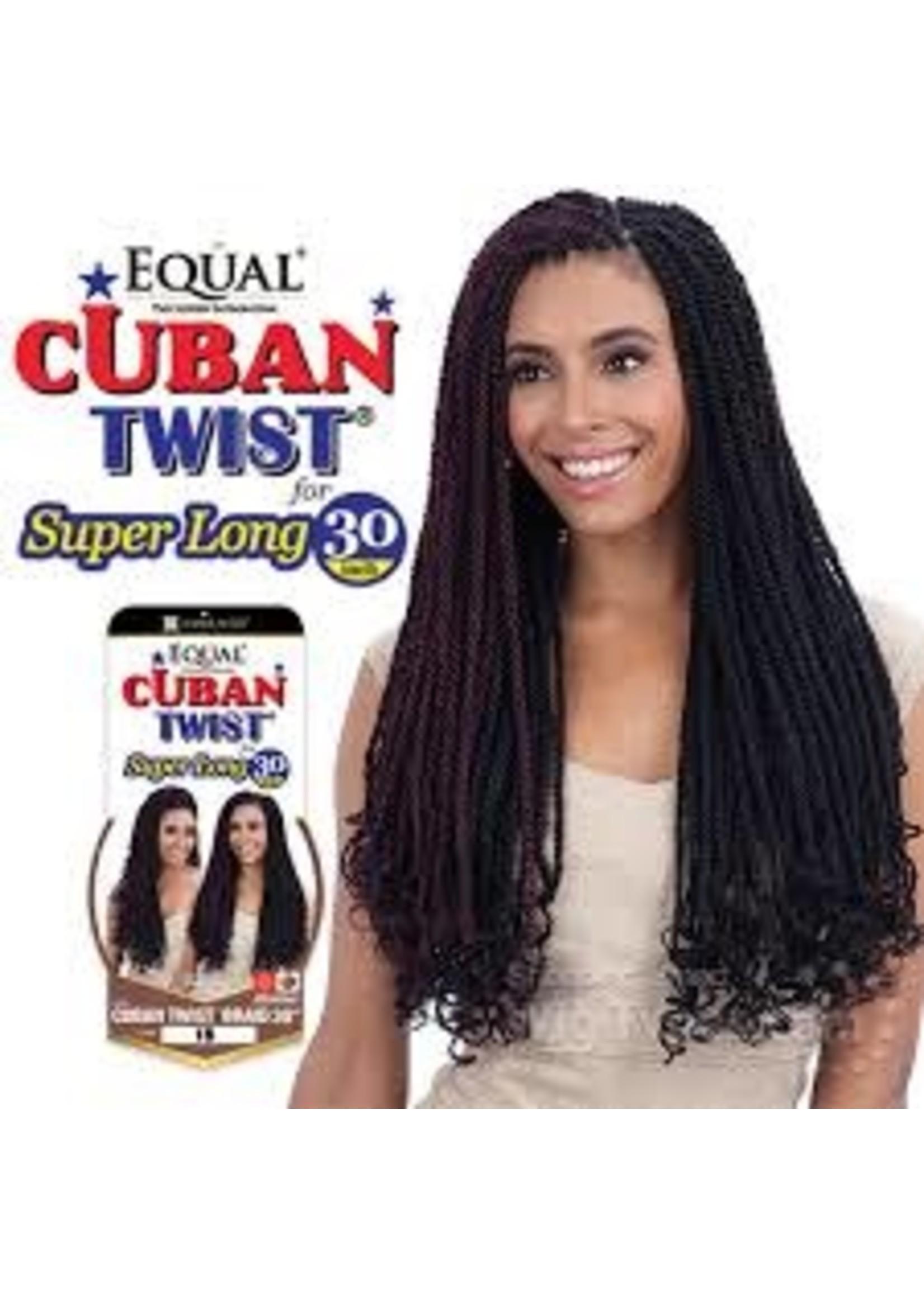 """Cuban Twist Braid 30"""" (1b)"""