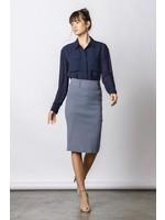 Office Pencil Skirt- Black