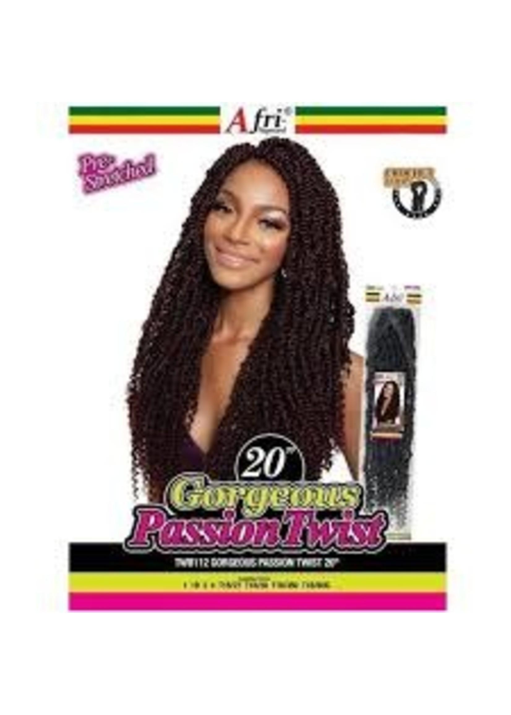 "Afri Naptural Gorgeous Passion Twist 20"""