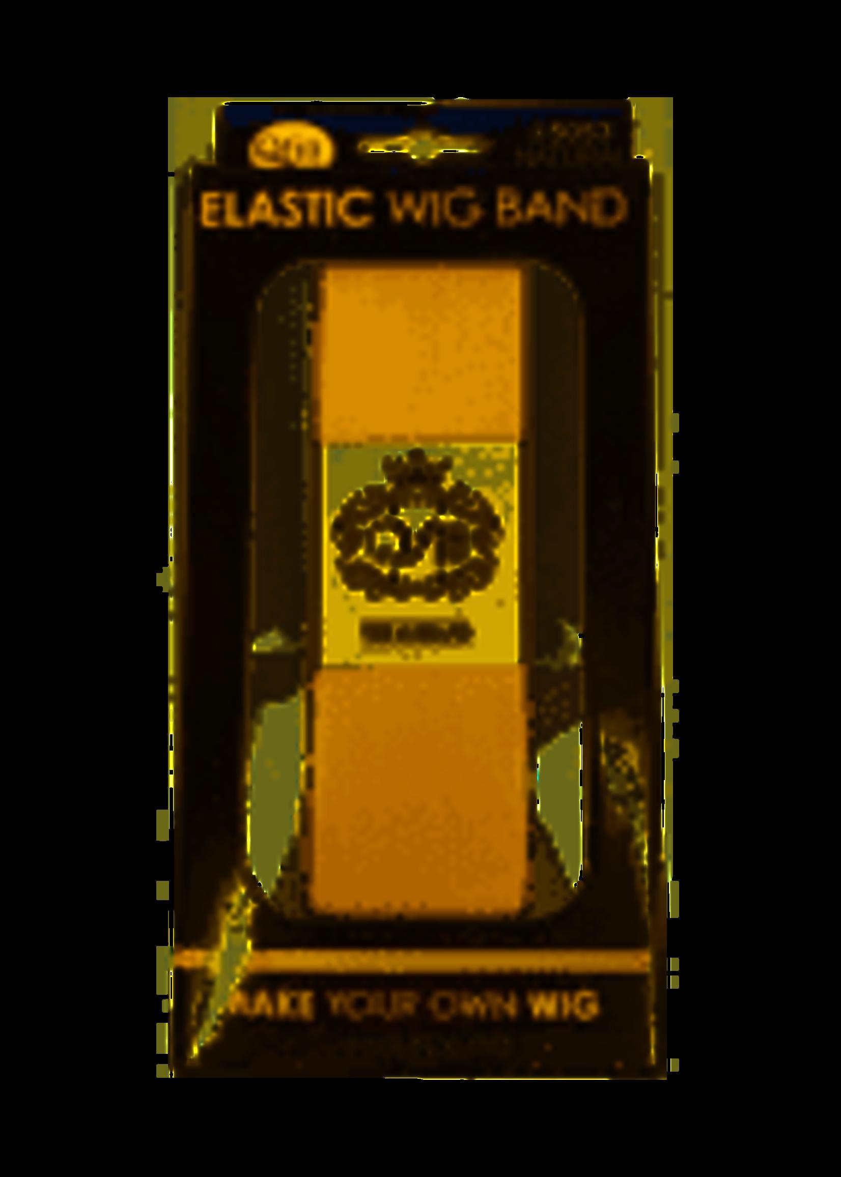 """Elastic Wig Band Beige 5/8"""""""