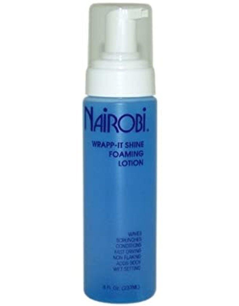 Nairobi Wrap-It Shine Foaming Lotion  8oz