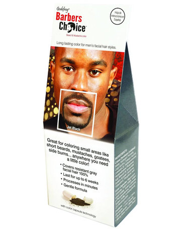 Barber's Choice Mustache & Beard Color Jet Black