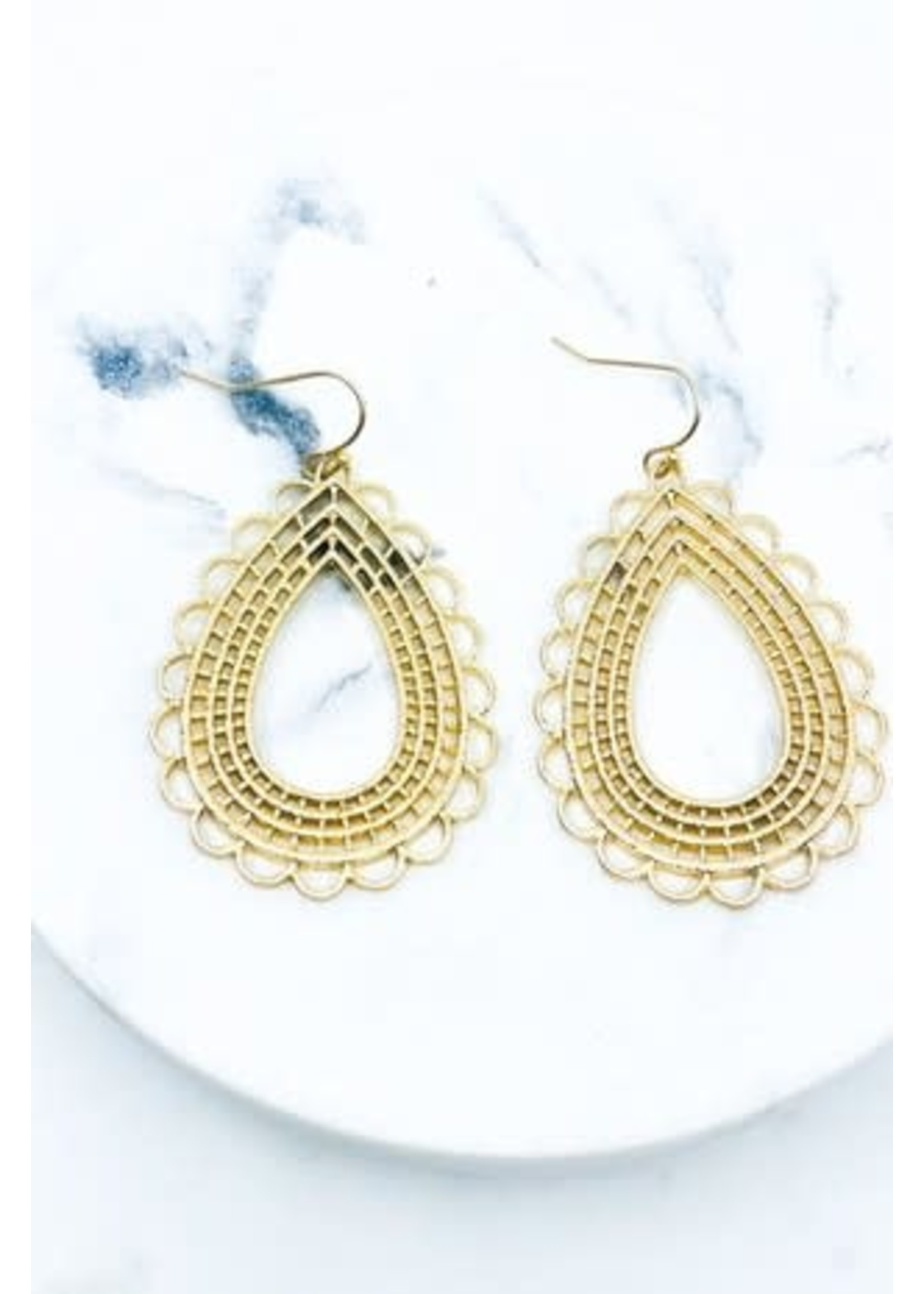 Antique Hoops Earrings