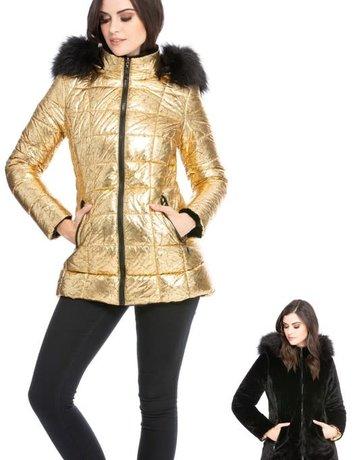 Show Stopper Jacket Metallic Gold (Reversible)