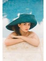 The Nicole Turquoise Straw Hat