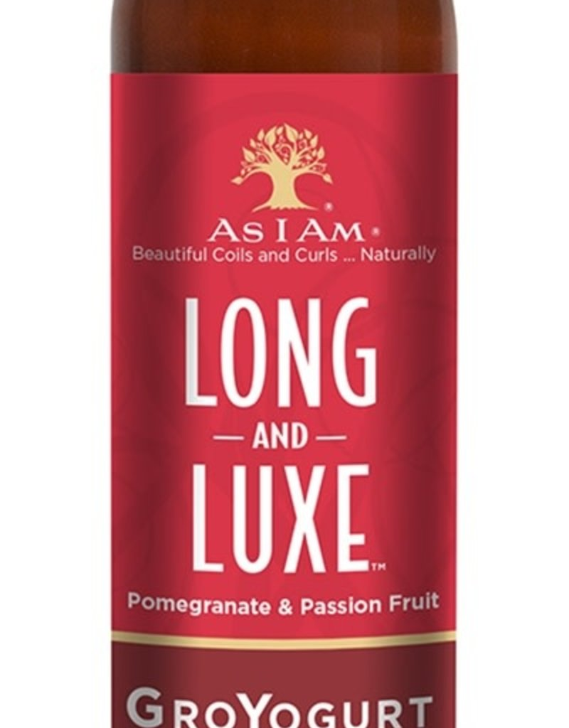 As I Am Leave In Conditioner 12oz Pomegranate & Passion Fruit