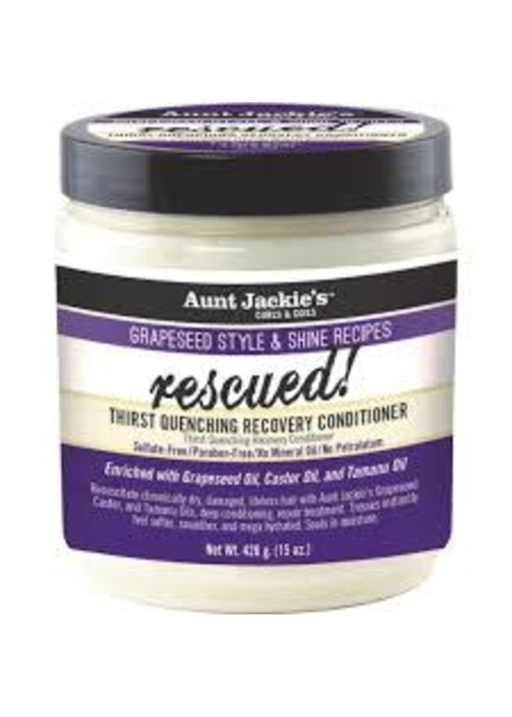 Aunt Jackie's Rescued Grapeseed 15oz