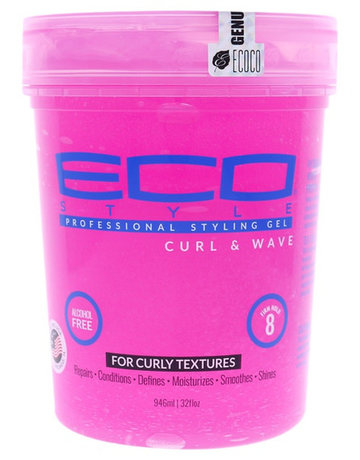 Eco Styling Gel Pink Curl & Wave 32oz