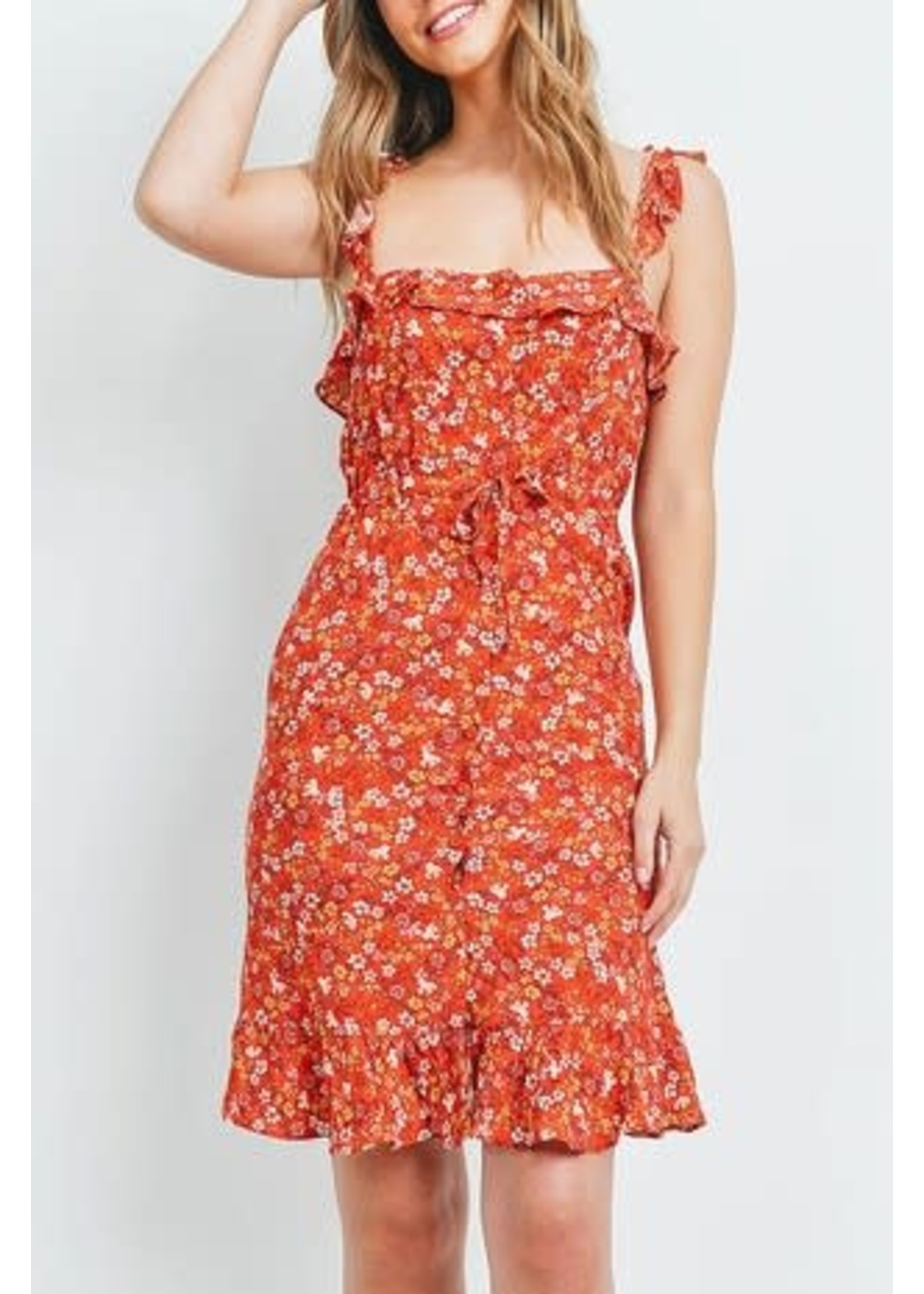 At the Park Floral Dress