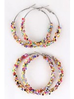 Multicolor Sequin Earrings