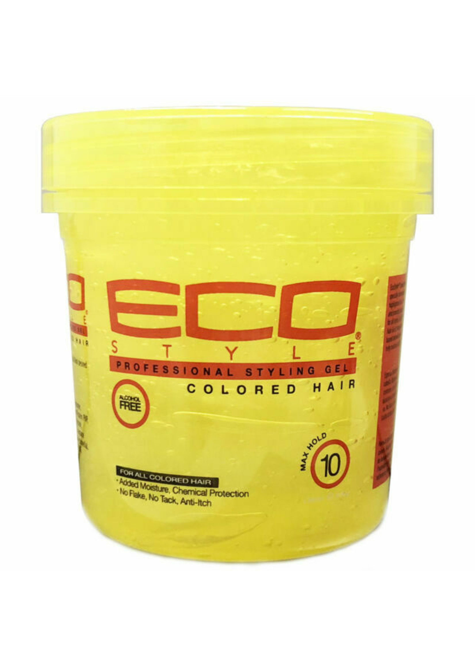 Eco Styling Gel 8oz. (Yellow) Color Treated hair
