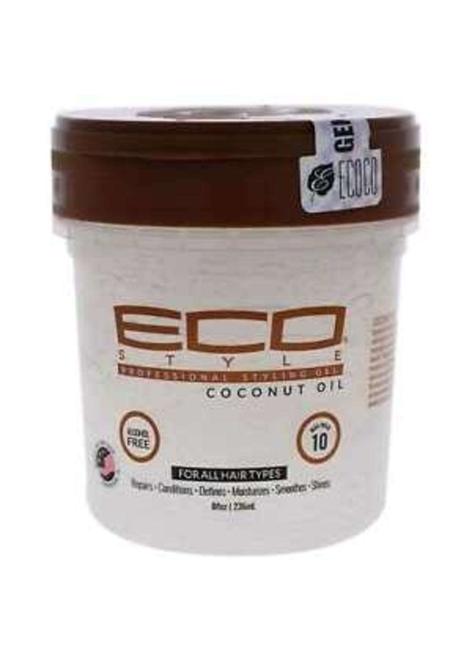 Eco Styling Gel 8oz. Coconut Oil