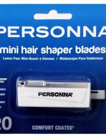 Personna Mini Hair Shaper Blades 20pk