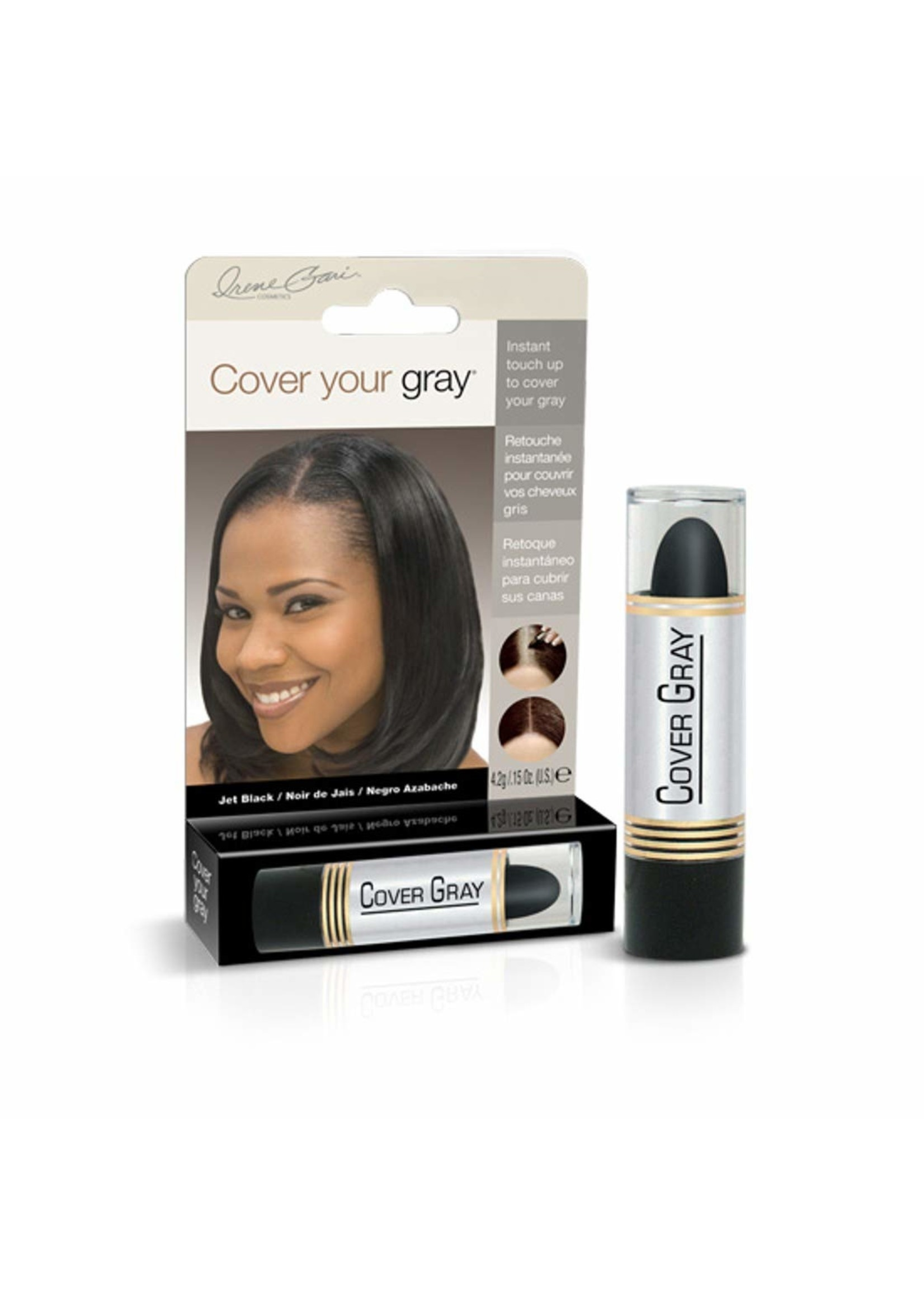 Cover Your Gray Jet Black