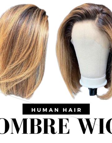 Ombre Bob 4/27 Human Hair
