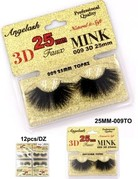 25mm 3D Mink Lashes Topaz