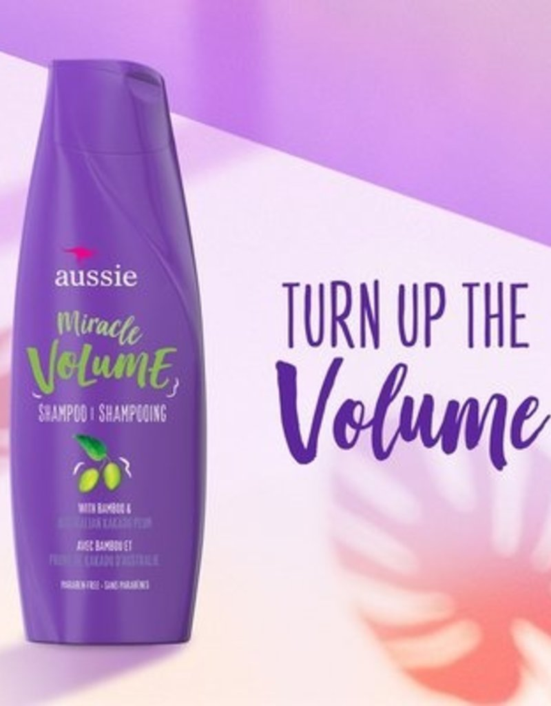 AUSSIE MIRACLE VOLUME SHAMPOO 12.1oz