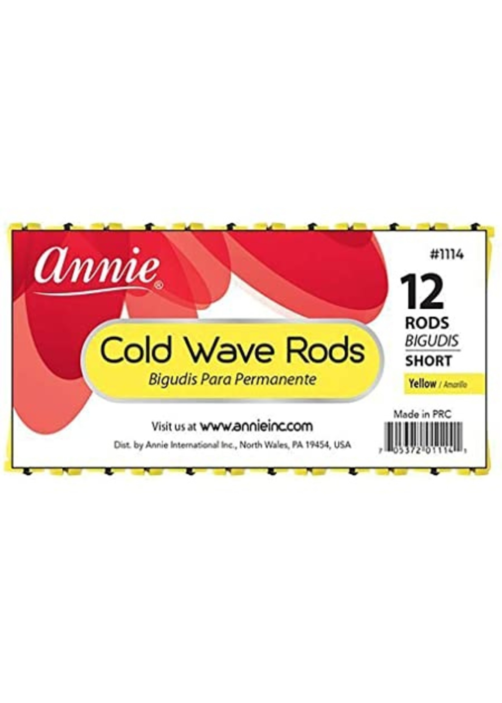Annie Cold Wave Yellow Short