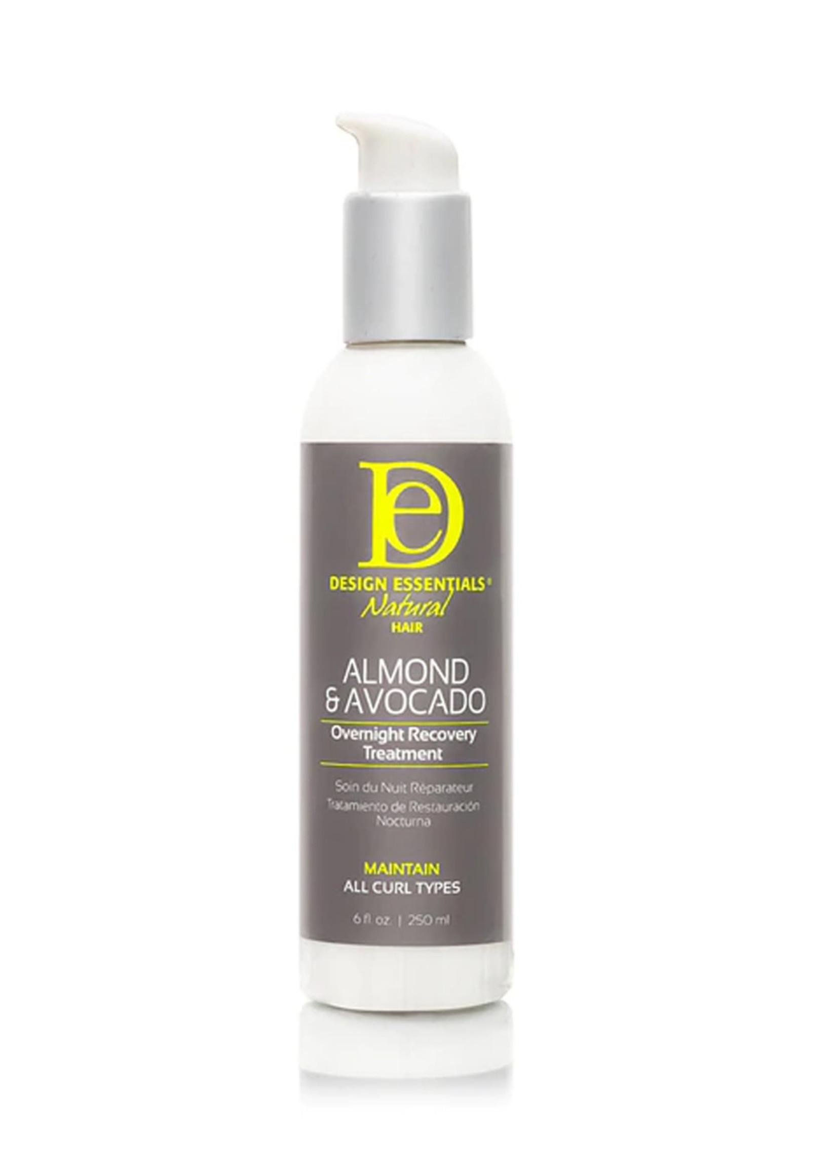 Design Essentials  Almond & Avocado Overnight Recovery Treatment