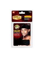 Premium Quality Long Tail Velvet Durag Black
