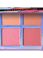 L.A. Colors LA Colors I Heart Makeup Blush Palette-