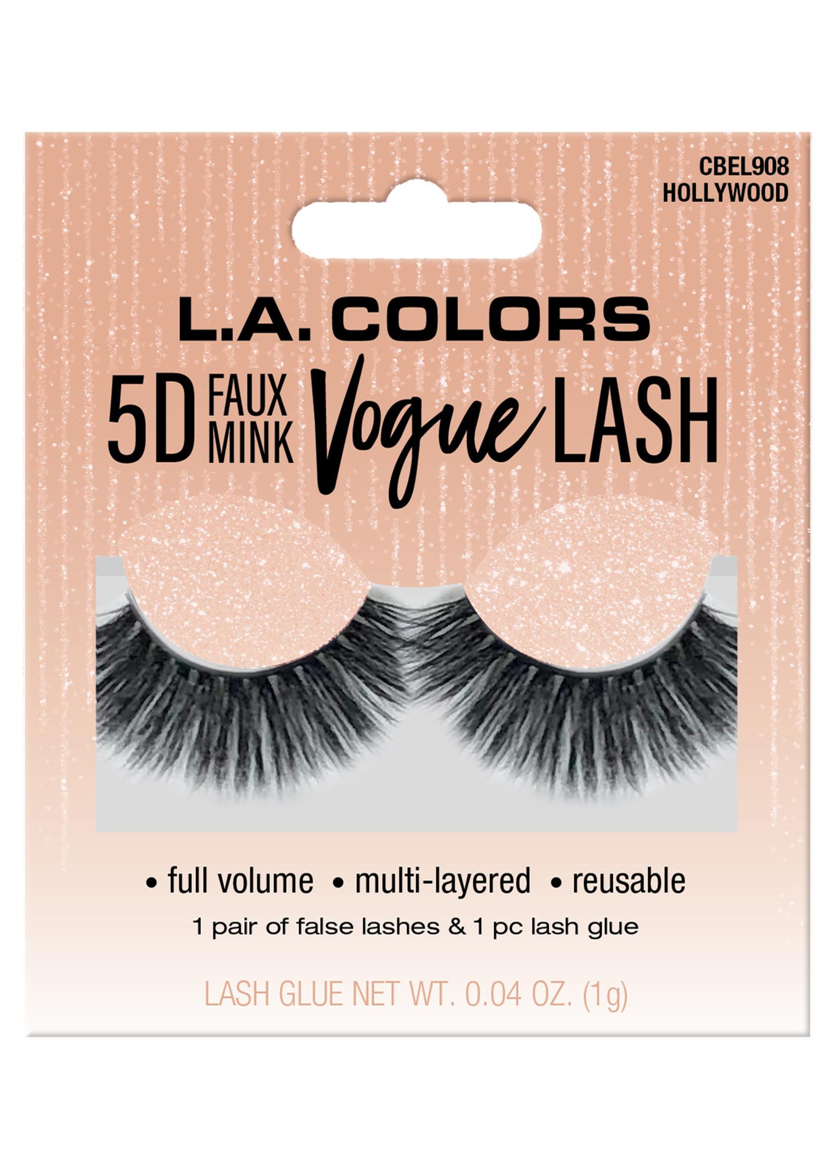 L.A. Colors LA Colors 5D Faux Mink Vogue Lash-