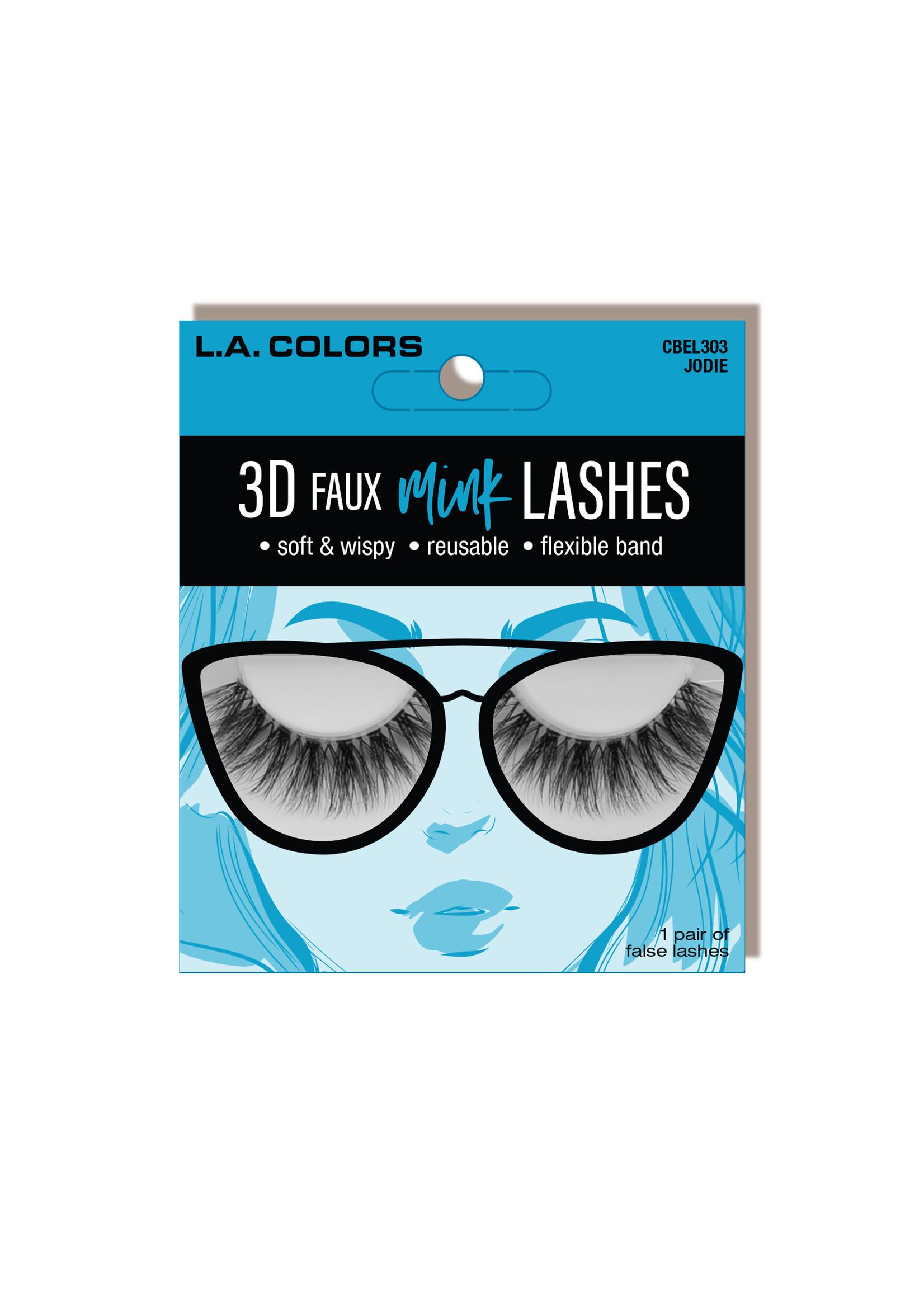 L.A. Colors LA Colors 3D Faux Mink Lashes-