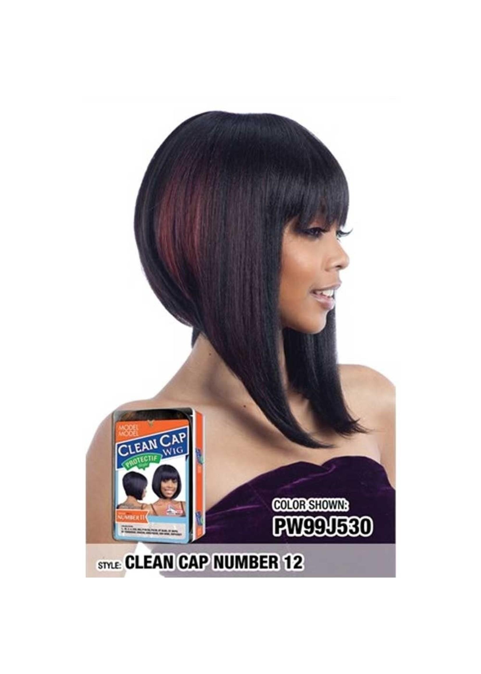 Clean Cap Number 12 Wig 1B