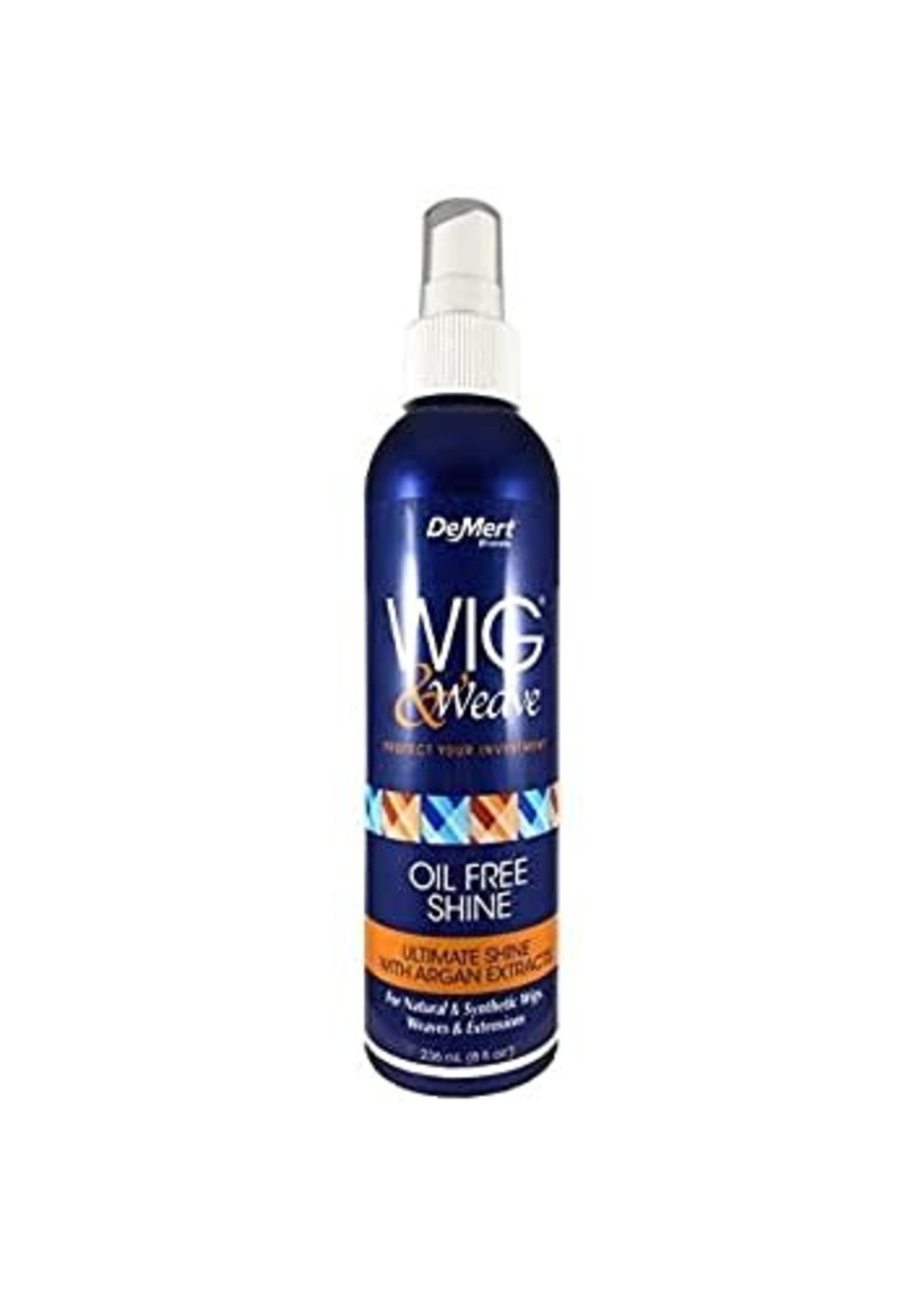DeMert Wig & Weave Oil Free Shine Spray