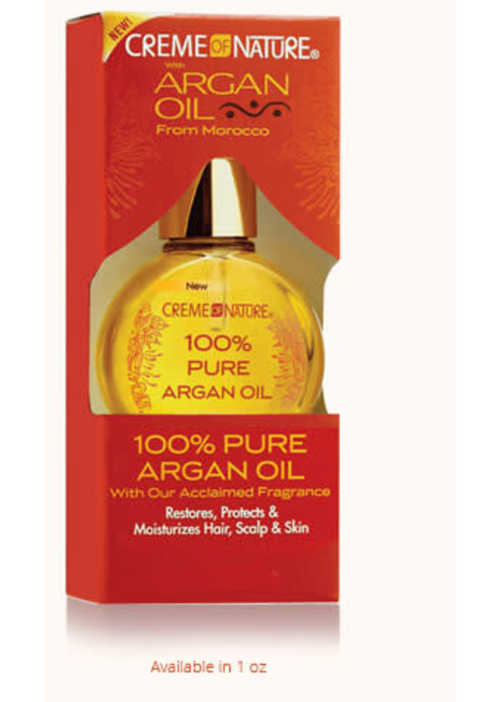 Cream of Nature 100% Pure Argan Oil