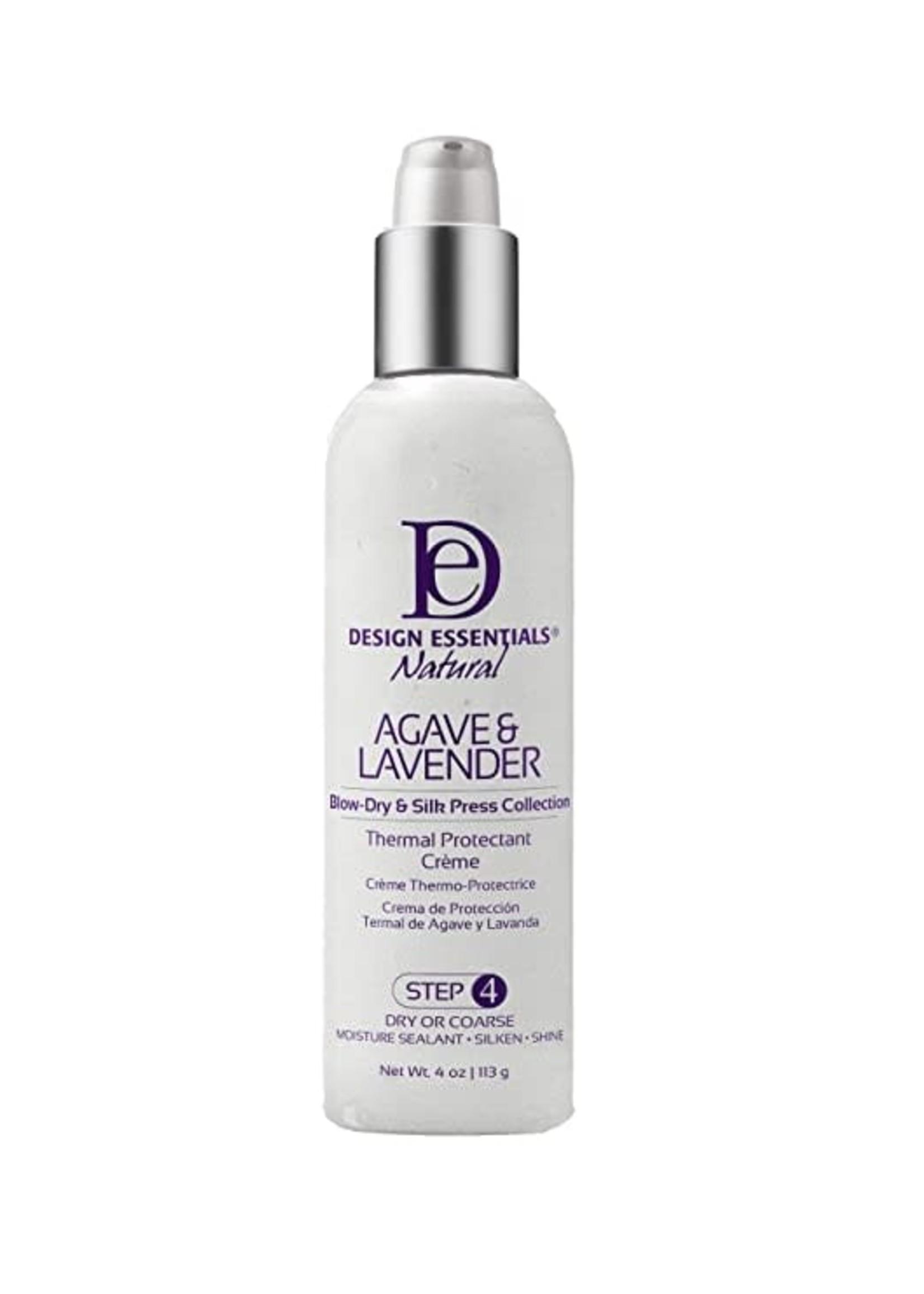 Design Essentials Agave & Lavender Thermal Protect Cream