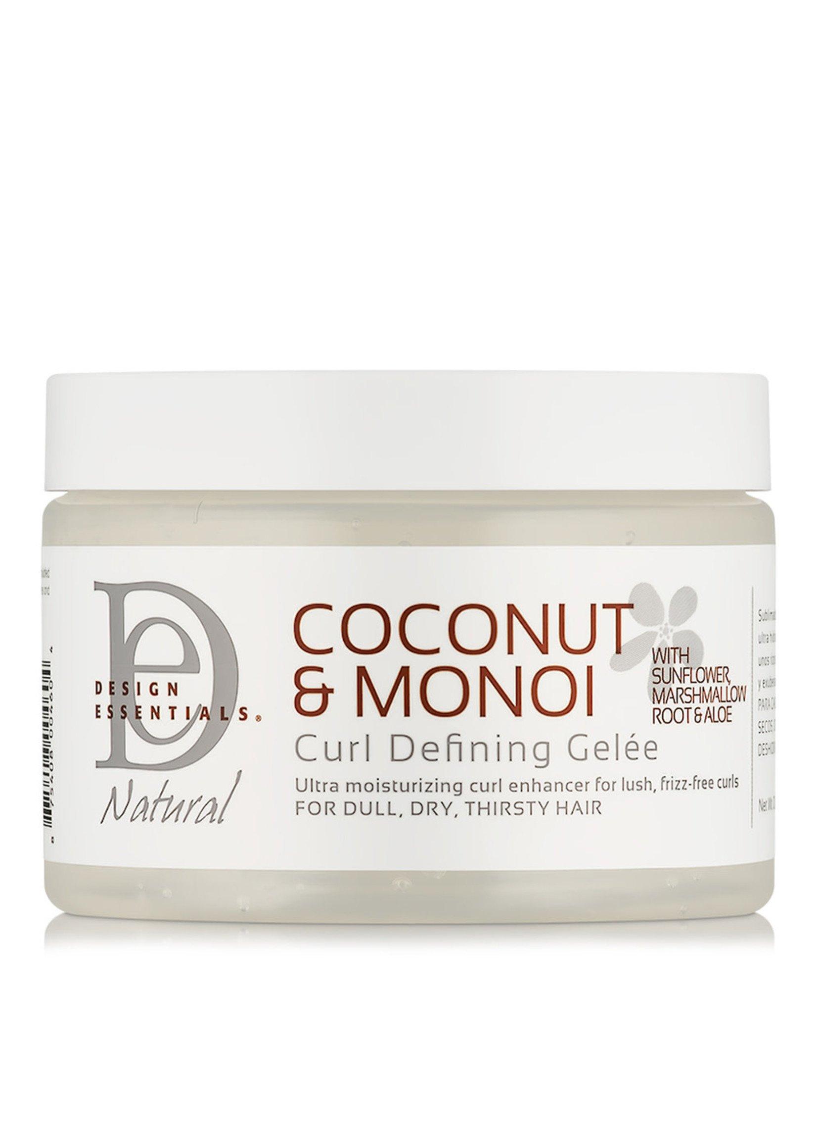 Design Essentials Natural Coconut & Monoi Curl Defining Gelee 12oz