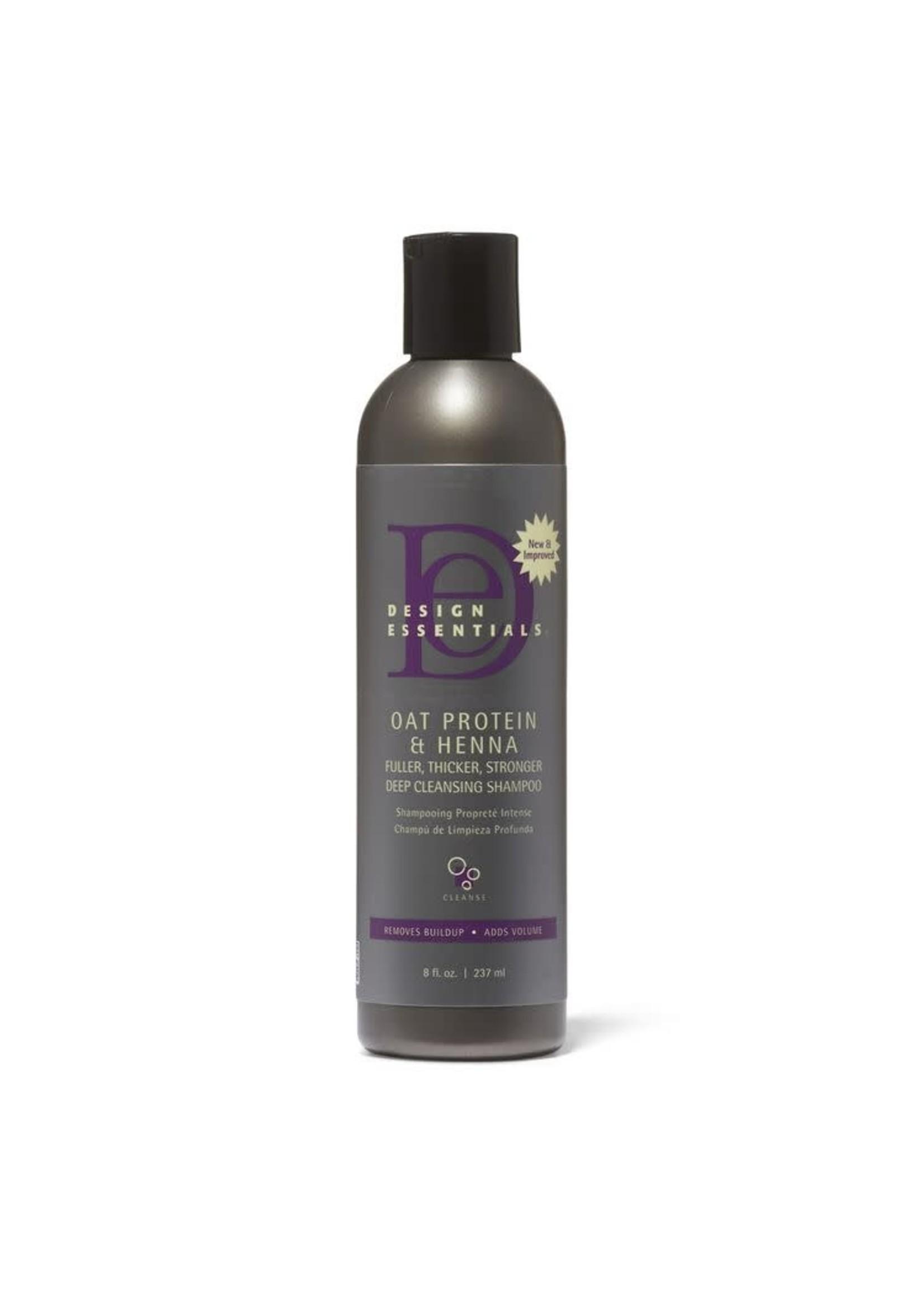 Design Essentials Oat Protein & Henna Deep Clensing Shampoo