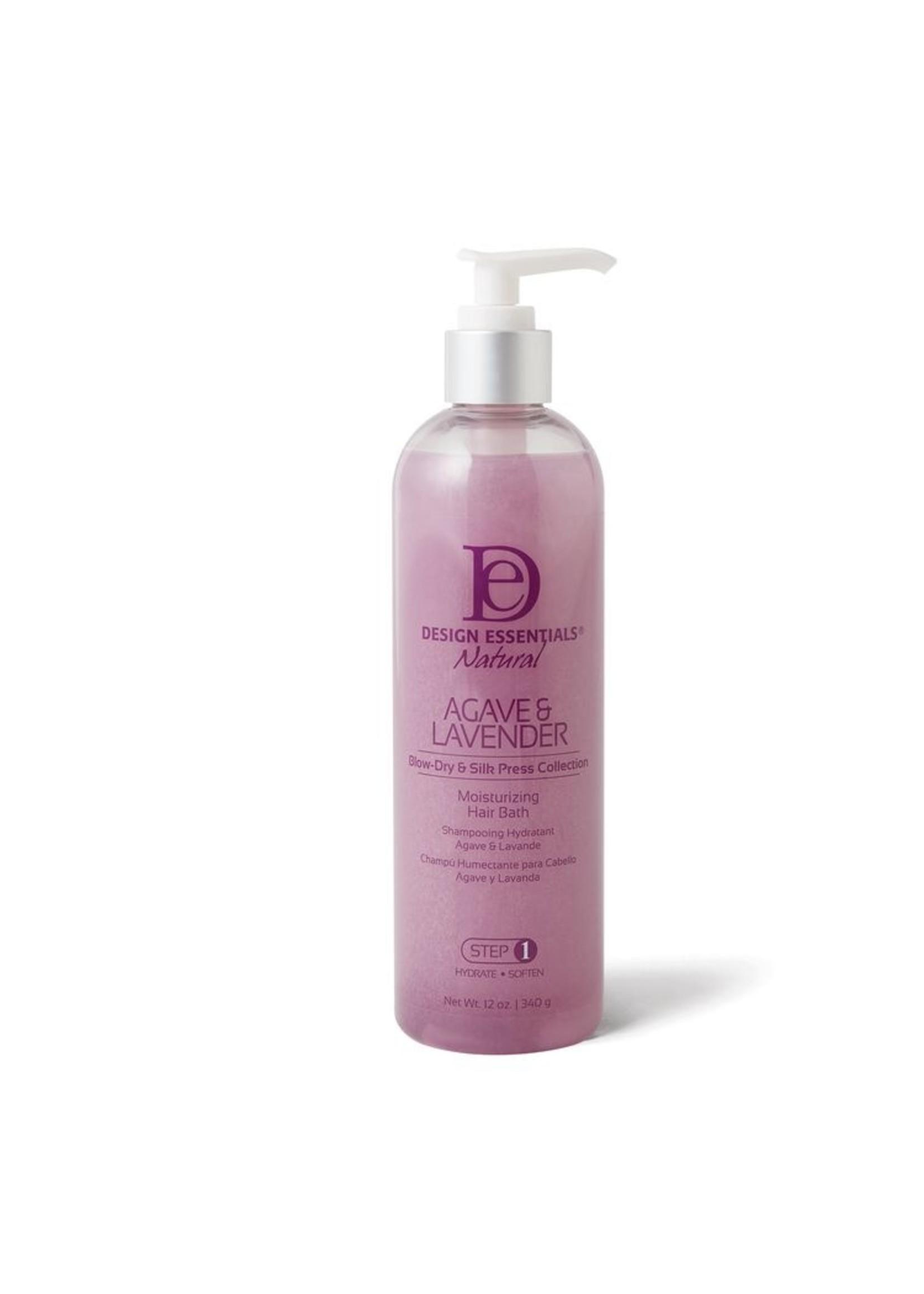 Design Essentials Agave & Lavender Moisturizing Hair Bath