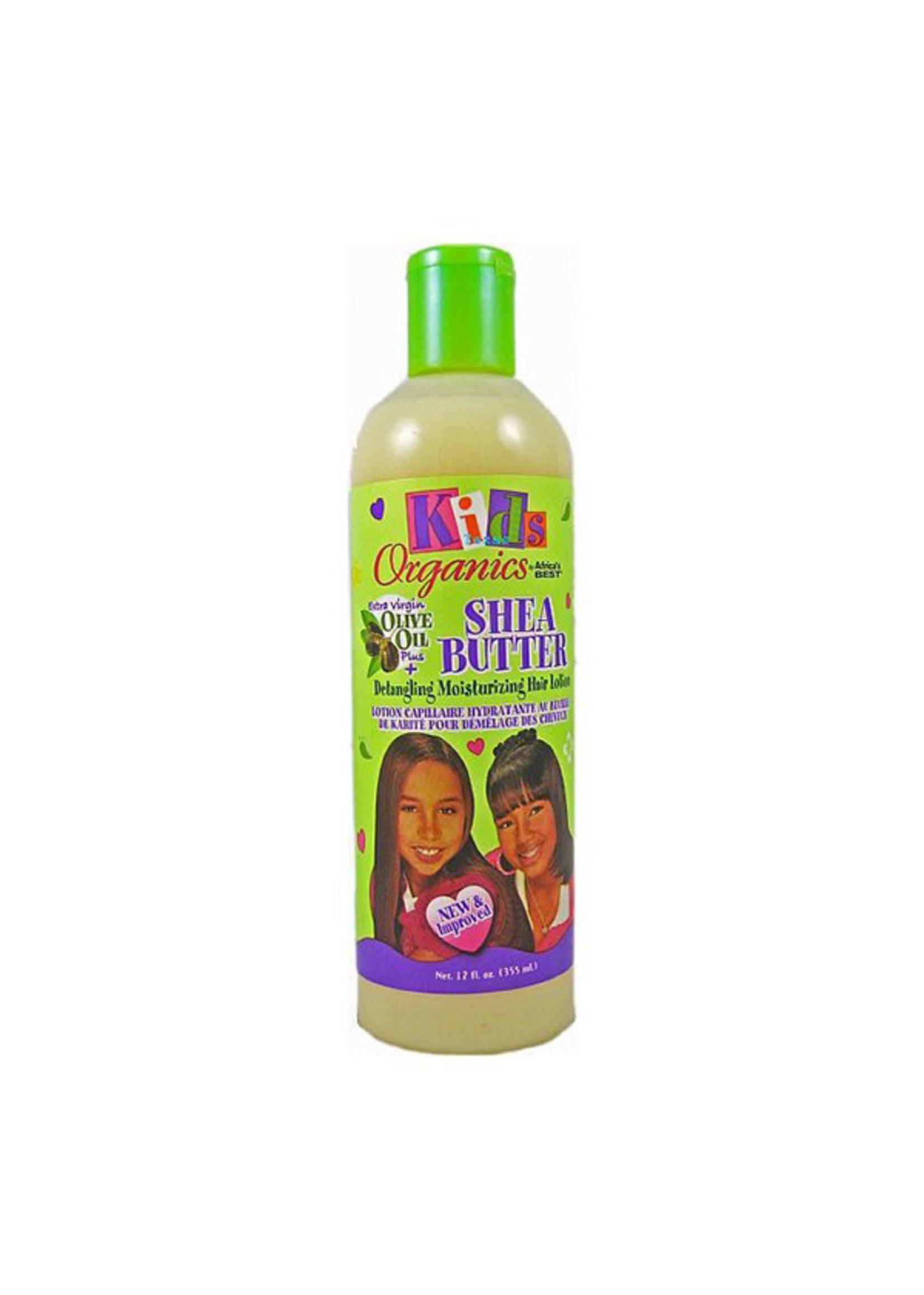 Africas Best Kids Originals Shea Butter Detangling Hair Lotion