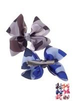 "3"" Camo Small Bows 2 bows for 1"