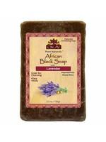 OKAY PURE NATURALS AFRICAN BLACK SOAP [LAVENDER]