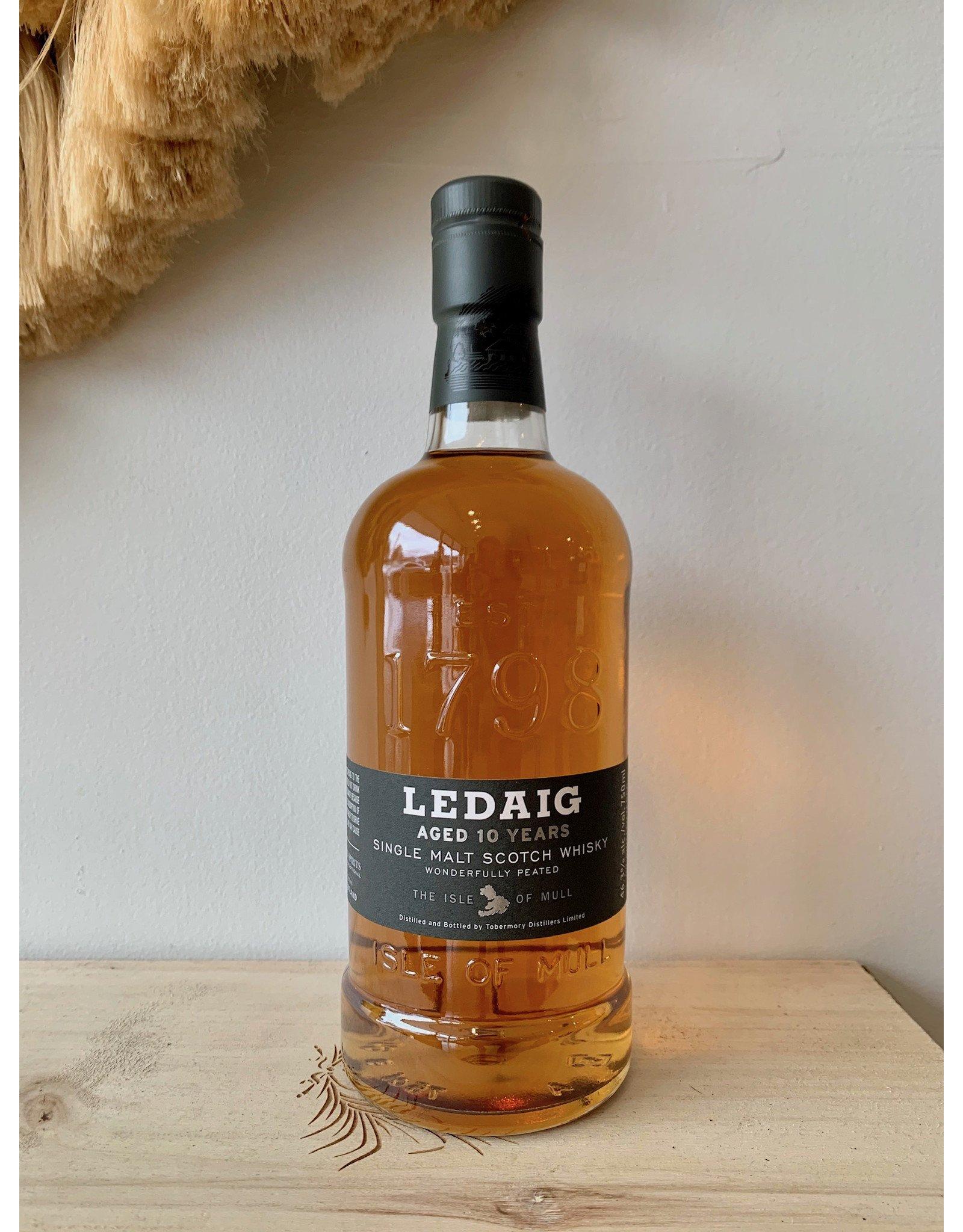 Ledaig 10 Year Scotch