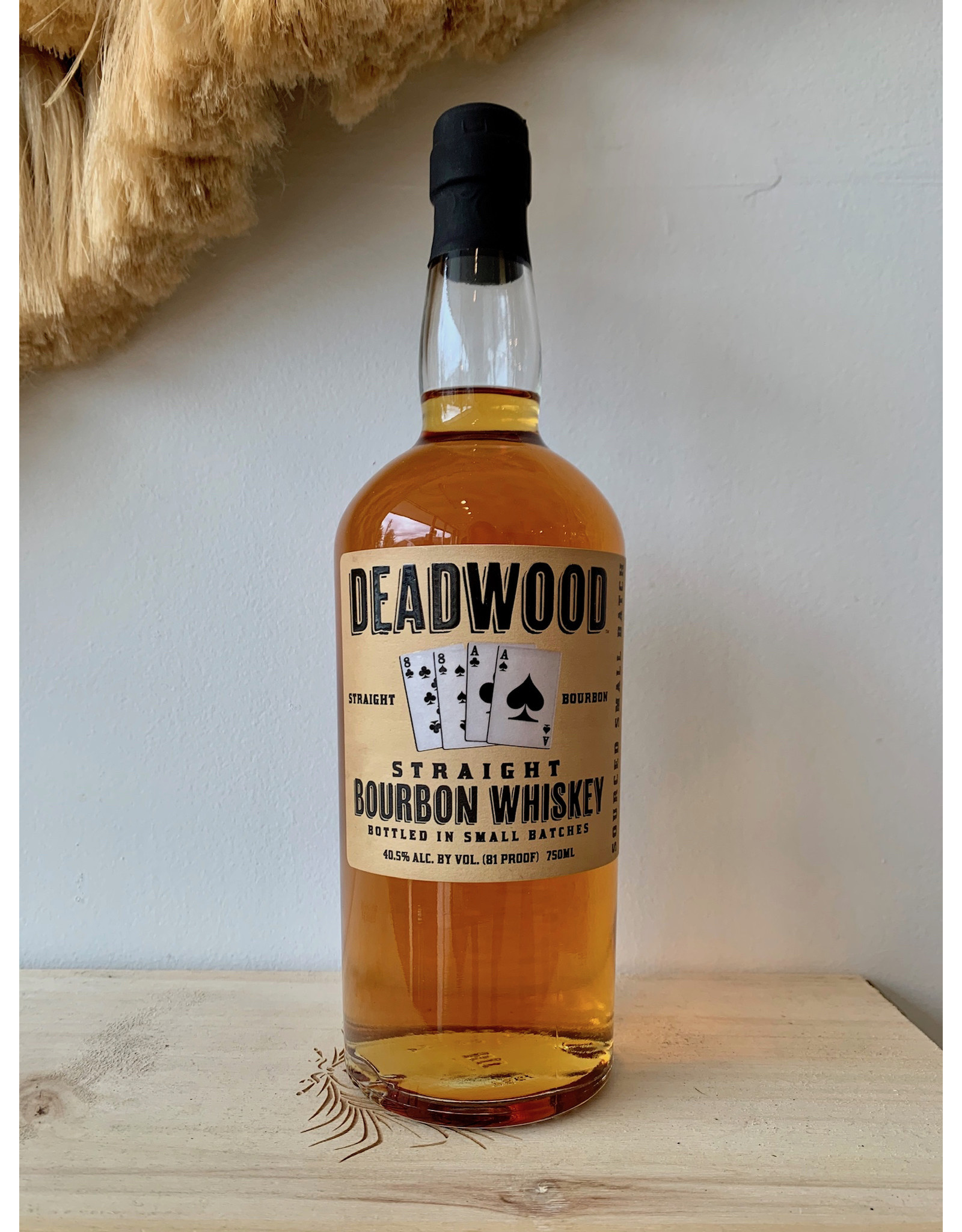 Proof & Wood Deadwood Straight Bourbon 1L