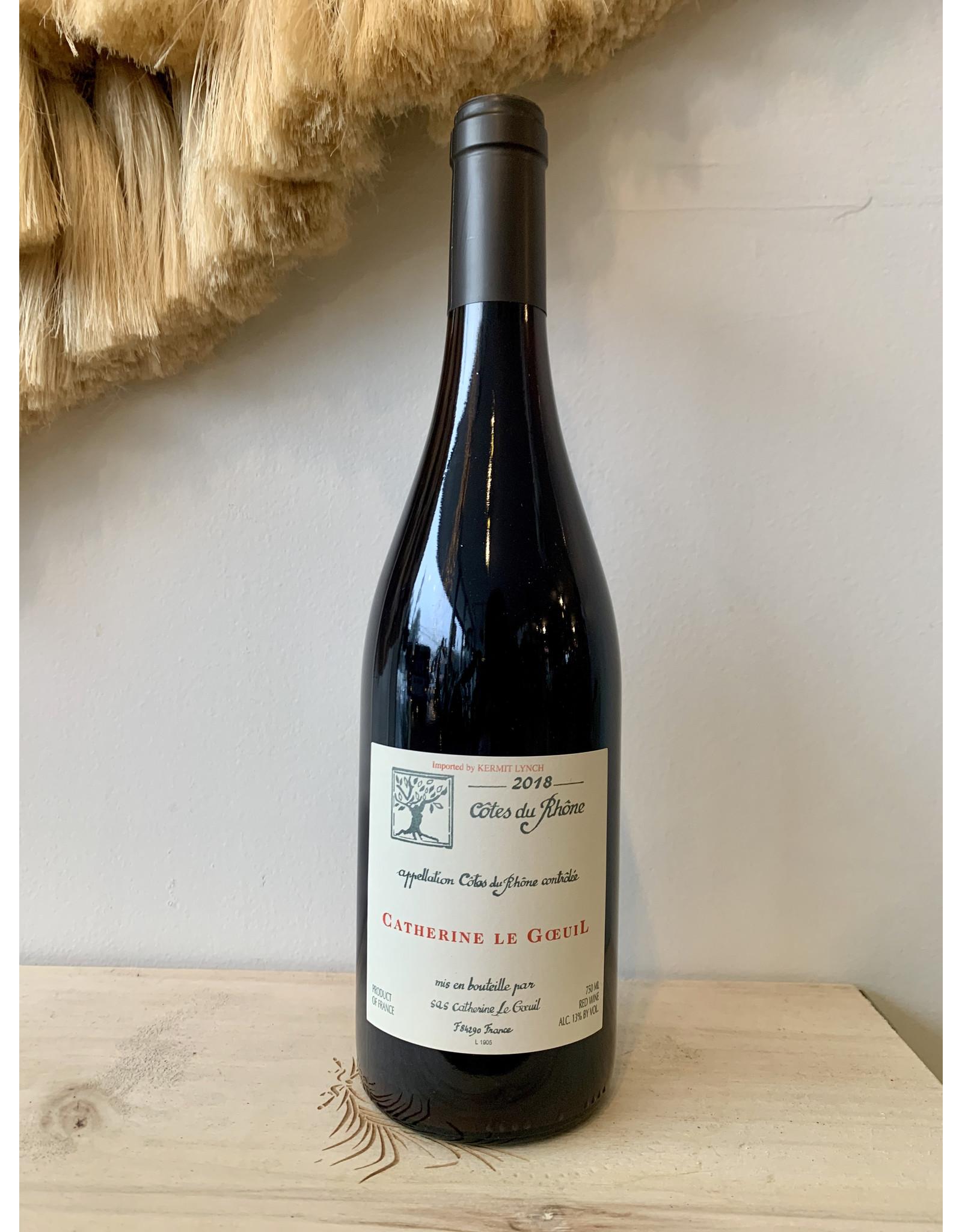 Domaine Catherine Le Goeuil Cotes du Rhone 2018
