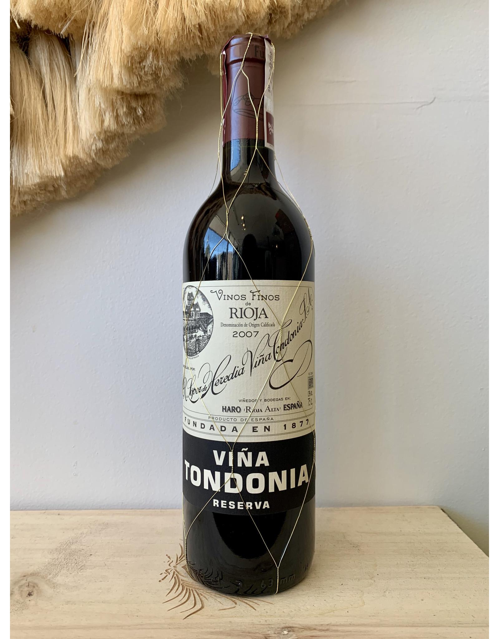 Lopez de Heredia Rioja Reserva Tinto Viña Tondonia 2008